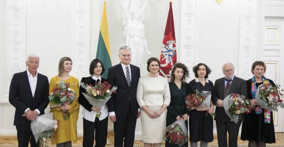 Prezidentūroje įteiktos Nacionalinės kultūros ir meno premijos, į ceremoniją neįleista laureatė V.Kuodytė