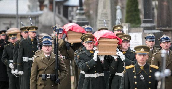 Valstybines sukilėlių laidotuves Vilniuje pastebėjo ir Rusija: K.Kalinauską išvadino rusofobu