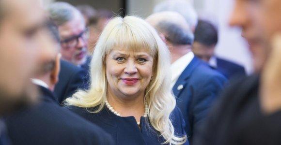 Teismas baigė nagrinėti buvusios Visagino merės D.Štraupaitės kyšininkavimo bylą