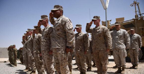 Donaldas Trumpas nori privatizuoti JAV pajėgas Afganistane
