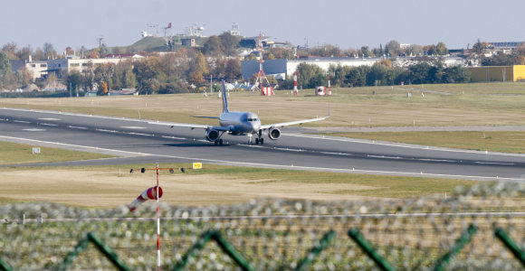 Vilniuje lėktuvams įvedami papildomi ribojimai siekiant mažinti triukšmą