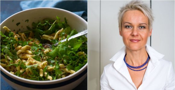 Nidos receptas: makaronų ir tuno salotos tiks ir lengvai vakarienei, ir iškylai