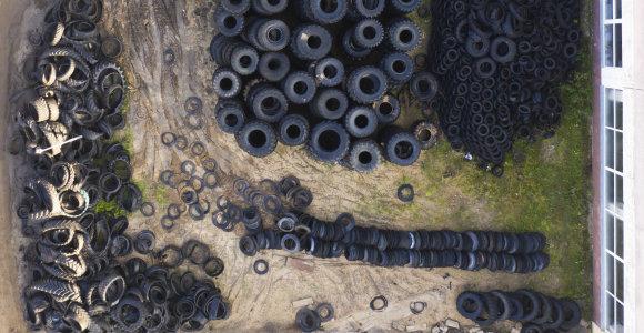 Svarstoma, kaip panaudoti senas automobilių padangas