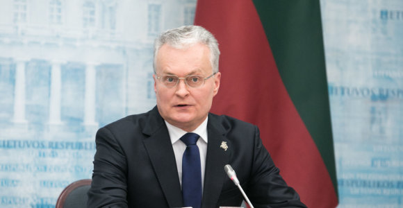 Prezidento G.Nausėdos reitingas smuko 10 proc. punktų