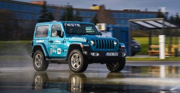 """Renkame """"Tautos automobilį 2020 m."""": susipažinkite su """"Jeep Wrangler"""""""