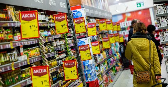 Ūkio ministerija siūlo uždrausti nuolaidas parduotuvėse, jei dėl jų susitarta žodžiu