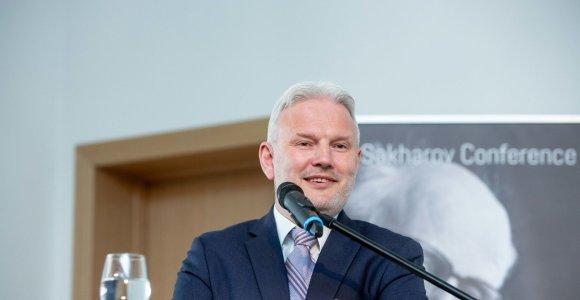 V.Dubovykas: Ukrainoje šiuo metu nėra krizės, dėl kurios reikėtų išankstinių rinkimų