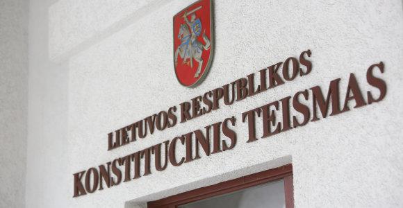 Konstitucinis Teismas netirs, ar referendumas dėl Seimo narių mažinimo yra teisėtas