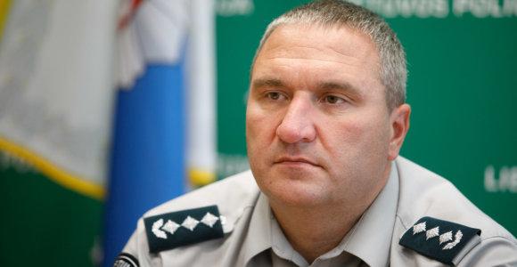 Paini padėtis dėl nušalinto Kauno policijos vado: pratęsė atostogas, kol vaikui sueis dveji