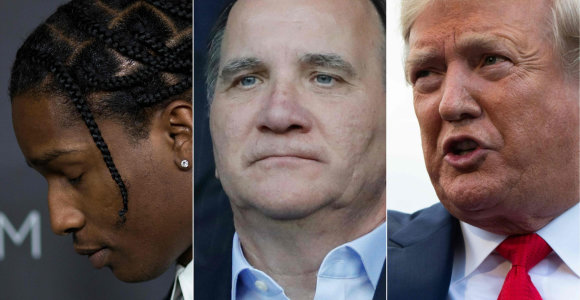 D.Trumpas reikalauja Švedijos paleisti sulaikytą JAV reperį