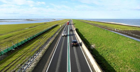Nyderlandai mažina leistiną greitį automagistralėse, kad sumažintų išmetalų kiekius