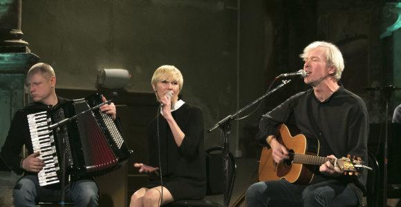 Netikėtą duetą su Andriumi Kaniava ruošianti Giedrė Kilčiauskienė scenoje ilgisi nuoširdumo