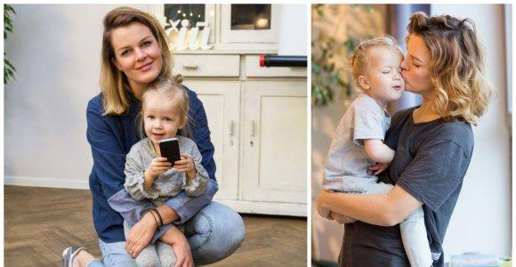 """Rimantė Kulvinskytė apie jausmus gimus dukrai: """"Labai bijojau iškristi iš darbo rinkos"""""""