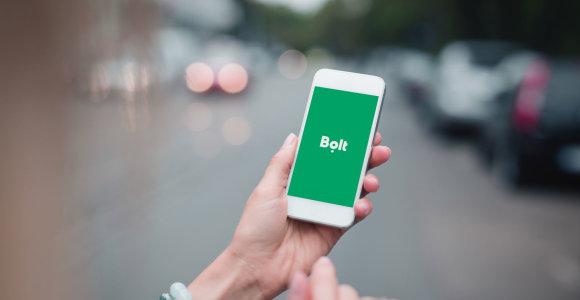 """""""Bolt"""" pradėjo nuomoti elektrinius paspirtukus Taline ir Rygoje"""