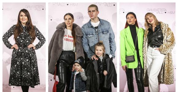 Vilniuje pristatyta nauja kolekcija: apsilankė ir kolekcijos veidu tapęs Montvydas su šeima