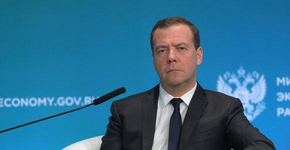 Rusijos premjeras: dujų tranzito sutartis su Ukraina turi būti abipusiai naudinga