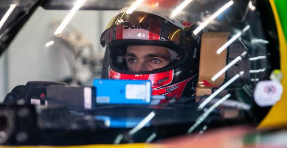 Ypatingas Gusto Grinbergo startas: pradėjo Europos Le Mano serijos lenktynes Spa trasoje