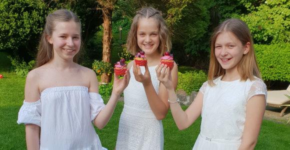 13-metė Ingos Stumbrienės dukra Estela sukasi virtuvėje: nuo šiol žurnale turės savo rubriką