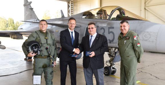 Vengrija vėl vykdys NATO oro policijos misiją Lietuvoje 2022-aisiais