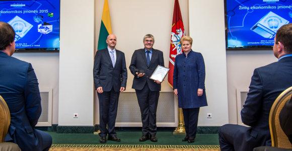 Apdovanotas Lietuvos kosmoso asociacijos vadovas Vidmantas Tomkus