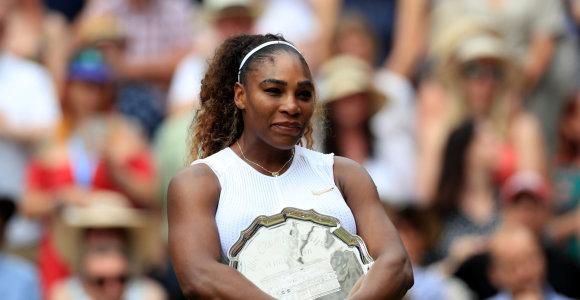 Gimtadienį atšventusi Serena Williams įstojo į dar vieną unikalų tenisininkių klubą