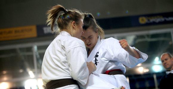 Karatė meistrai išsidalino Lietuvos čempionato medalius