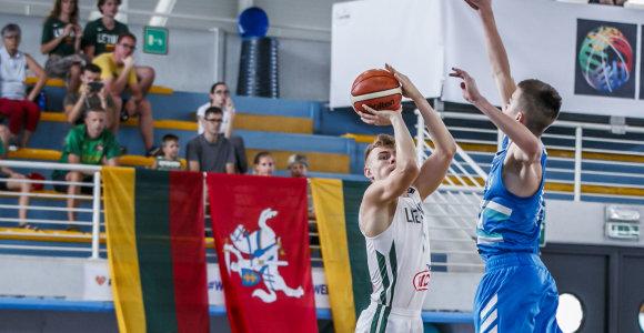 Europos 16-mečių čempionate – devintoji lietuvaičių vieta