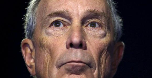 Buvęs Niujorko meras M.Bloombergas užsiregistravo kandidatu į JAV prezidentus