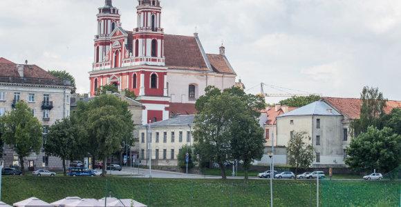 Dėl Šv.Jokūbo ligoninės teritorijos užstatymo Vilniuje žadama skelbti konkursą