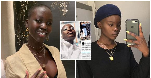 Supermodelis piktinasi žurnalo neapdairumu: šalia interviu paskelbė kito modelio nuotrauką