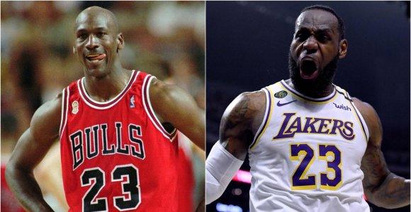 Geriausi sezonai NBA istorijoje: viršūnėje – MJ, bet savų argumentų turi ir LeBronas