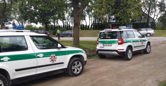 Vilkaviškio policija ieškojo moters su vaiku: abi greitai atsirado