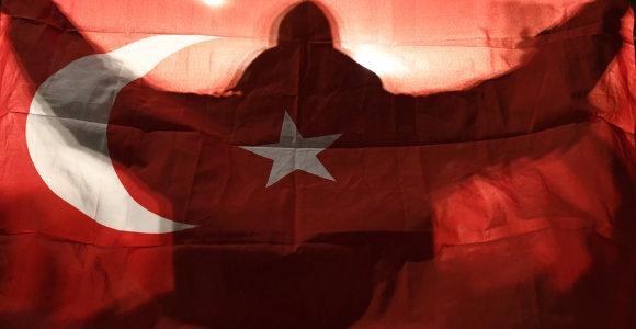 Turkijos centrinis bankas šeštą kartą per septynis mėnesius sumažino bazines palūkanas