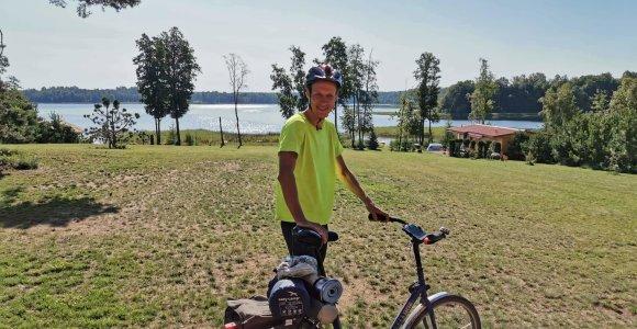 Mes lygūs. Diplomatas Ž.Juška su vienos pavaros dviračiu apkeliavo Lietuvą – ką atrado?