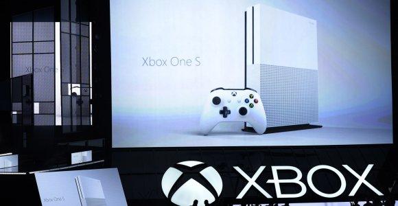 """Microsoft"" pristatė mažesnę konsolę ""Xbox One S"" ir ""Project Scorpio"""