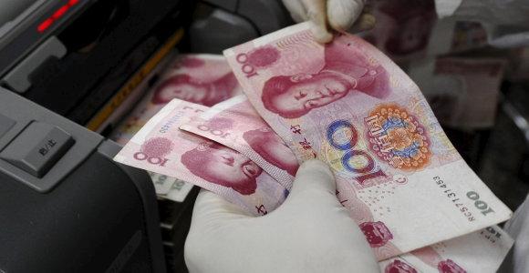 JAV išbrauks Kiniją iš valiutos manipuliatorių sąrašo