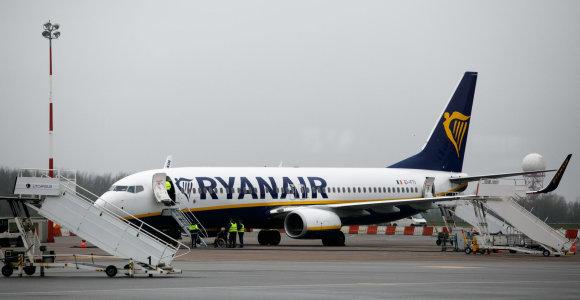 """""""Ryanair"""" senka kantrybė: nustatė terminą, iki kurio reikalauja pasiekti """"Brexit"""" susitarimą dėl oro transporto"""
