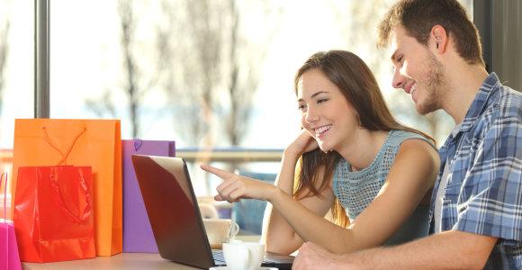 Elektroninė prekyba neišsitenka virtualioje erdvėje: duris atveria parduotuvės