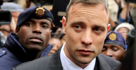 O.Pistorius apskundė dėl merginos nužudymo jam skirtą teismo nuosprendį