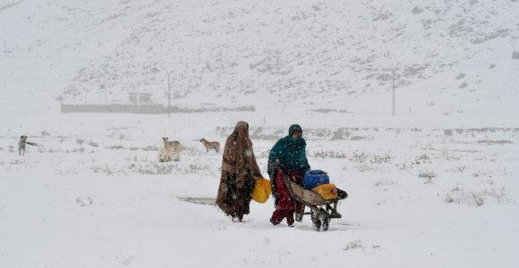 Afganistane ir Pakistane ekstremalūs orai nusinešė 43 gyvybes