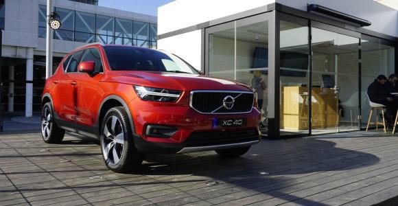 """Didžiųjų """"Volvo"""" pusbrolis XC40: kuo primena """"Škodą"""" ir kodėl stumdysis su """"Audi"""""""