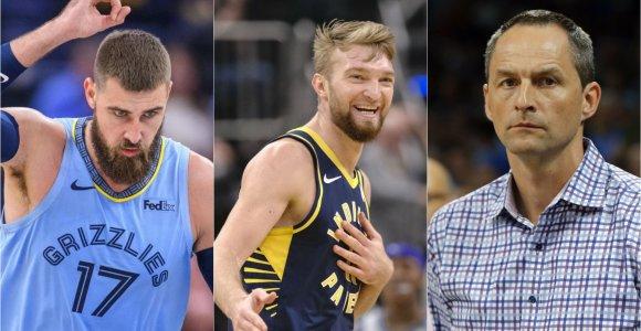 Naujas formatas ir papildomi rūpesčiai: ką NBA sezono tęsinys reiškia lietuviams?