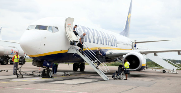 """Atšauktas trečiadienio """"Ryanair"""" skrydis iš Kauno į Alikantę"""