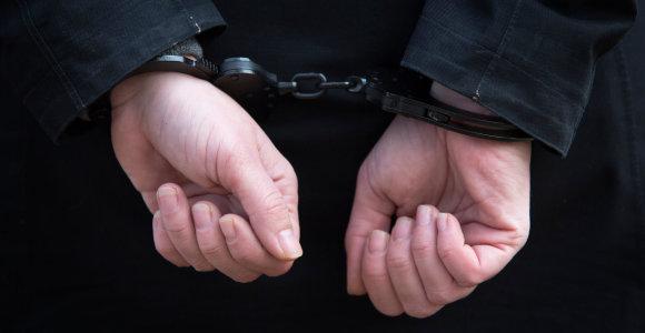 Vilniuje sulaikytas pasikėsinimu nužudyti įtariamas vyras