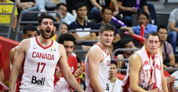 Daugiau nei pusę taškų tritaškiais surinkusi Kanada nepasigailėjo Jordanijos