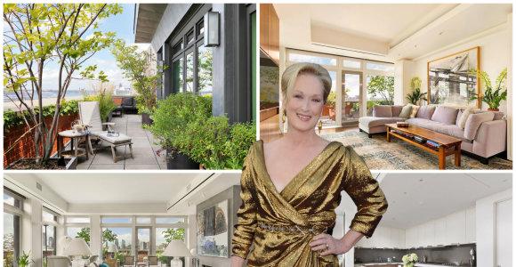 Meryl Streep parduoda apartamentus Niujorke: iš būsto atsiveria žadą atimantys miesto vaizdai
