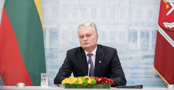 Nacionalinio kibernetinio saugumo centre Kaune apsilankęs prezidentas ragino nesustoti