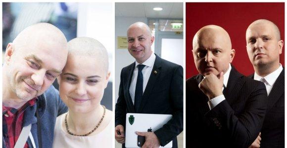 A.Veryga – ne pirmasis, nusiskutęs galvą dėl sergančių vėžiu: ar tokia solidarizacija veiksminga?