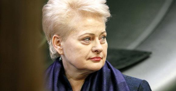 Dalia Grybauskaitė: Rinkimai Britanijoje sustiprins Theresos May vidaus politikos pozicijas