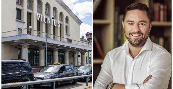 Nuo Vilniaus oro uosto taksi keliavęs Liudvikas Andriulis ragina neapsigauti: jo vežėjui paskirta bauda